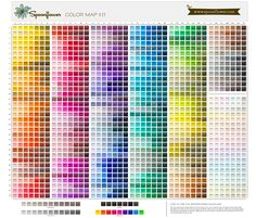 I just got the basic colors sample and Carolina Panther blue is not on there : ( So I need to order the larger sample here. Spoonflower Color Map fabric by spoonflower on Spoonflower - custom fabric Color Names Chart, Color Mixing Chart, Colour Chart, Map Fabric, Fabric Wallpaper, Color Palette Challenge, Colour Pallete, Color Palettes, Color Theory