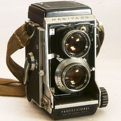 Vintage Camera Mamiya C3 TLR with 80mm lens and Waistlevel Viewfinder for Medium Format 120 Film on Etsy, $230.00