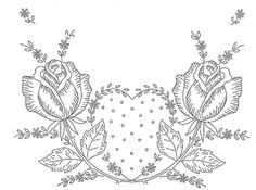 Yesteryear Embroideries: The vintage rose design that I posted for you on May 31 post........