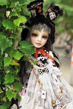cool looking doll.