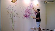 Dekoratif Duvar Boyama Teknikleri ,  #duvarboyanasılyapılırvideo #duvarboyamadesenleri #duvarboyamasanatı #duvarresmiörnekleri , Ev dekorasyonunuz için uygulayacağınız çok güzel bir çalışma hazırladık. Sizlere duvar boyama modelleri yaparken fikir verecektir. Evimi ke...