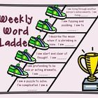 Use this file and change as you like to practice vocabulary usage.  In my classroom, I give the students clues at each step of the ladder and have ...