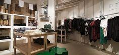 Aplace below boutique in Stockholm for discount Swedish designer goods