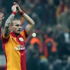 Wesley Sneijder - favorit football player