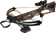 Barnett Quad 400 Crossbow Package (Quiver, 3 - 22-Inch Arrows and 4x32mm Scope) ,$367.37