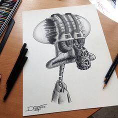 Desenhos feitos a lápis que vão te impressionar!   Insanos