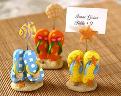Flip-Flop Place Card Holder (Set of 3) < + more placecard holders.