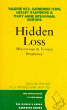 Hidden Loss: Miscarriage & Ectopic Pregnancy (The Women's... https://www.amazon.com/dp/0704344572/ref=cm_sw_r_pi_dp_x_VfabybNZZ2FRF