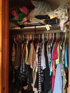 Closet Organization Tips Including Closet Storage Ideas and Solutions