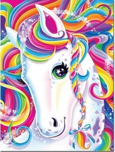 Pretty Unicorn 5D DIY Diamond Embroidery