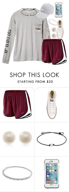 """Leavin the island😫"" by carolinaprep137 ❤ liked on Polyvore featuring NIKE, Converse, Links of London, Pandora and LifeProof"