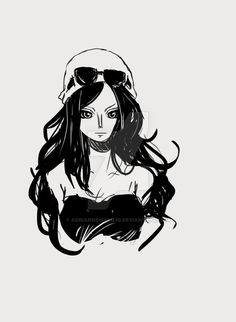 Nico Robin (One Piece) by AdrianneWalujo.deviantart.com on @DeviantArt
