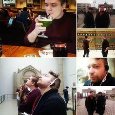 För ett år sedan.. Besök i #Berlin kul att vi sparar nu så många bilder eller hur?