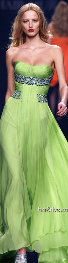 Zuhair Murad⭐️ -- I couldn't pull of this colour but I'd wear the style in a different hue.