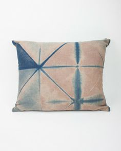 Shibori Dye Pillow