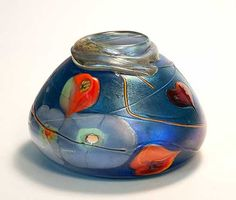 Vase 5234 by Tom Michael, Odyssey Art Glass, www.TomMichael.com