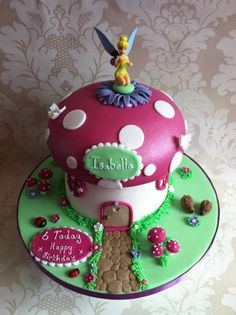 Tinkerbell cake - Isabella