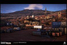 ArtStation - Ghost Recon: Wildlands - San Mateo - Santa Blanca Main Base, Jonathan BENAINOUS