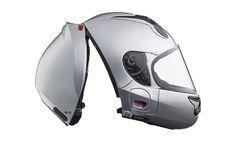オーストラリアのヘルメットメーカー Vozz が、新コンセプトのフルフェイスヘルメット「Vozz RS 1.0」 を発表しました。後頭部にヒンジを備え、帽体が前後に分割する構造を採用、グローブを着けたままでも簡単に着脱が可能です。また首から抜けない構造とすることであご紐がなくなりました。