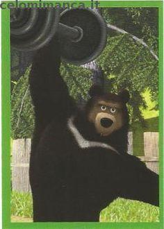 Masha and the bear - Masha e Orso: Fronte Figurina n. 103 Orso Tibetano
