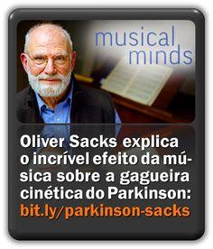 Oliver Sacks explica em vídeo o incrível efeito da música sobre a gagueira cinética do Parkinson. Oliver Sacks, Therapy, Education, Speech Pathology, Musica, The Voice, Healing, Onderwijs, Learning
