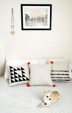 DIY pillows three ways from Ez (Creature Comforts)