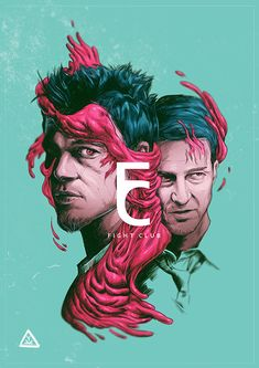 Amazing design ! : Fight Club by Aykut Aydoğdu, via Behance