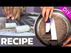 ICE CREAM ROLLS - RECIPE & DIY Tutorial - YouTube