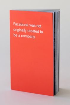 A Look Inside The Beautiful Handbook Facebook Gives All New Employees | Airows