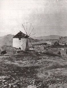 1869 ~ Mill in Mets, Athens, Greece (photo by William James Stillman) Athens History, Greece History, Old Pictures, Old Photos, Vintage Photos, Greece Photography, Vintage Photography, The Old Days, Athens Greece