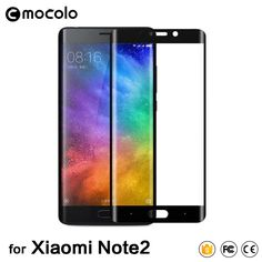 3D Curved Full Cover Tempered Glass For Xiaomi Note 2 Screen Protector Glass For xiaomi mi note2 Toughened Protective Film