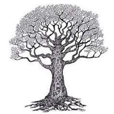 Would make an amazing back piece. Would love to turn this into a family tree since I am irish!