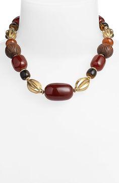 Lauren Ralph Lauren Beaded Collar Necklace available at #Nordstrom