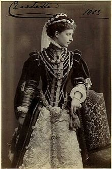 Princess Charlotte of Prussia ( daughter of Vicky)