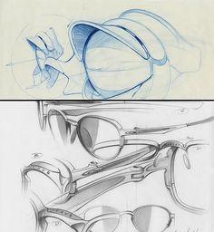 Oakley sunglasses sketch | por KOWABUNGA84