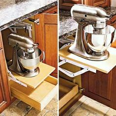 pull up appliance shelf - must have