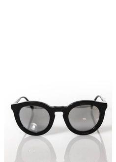 bd7733c4ca36aa Vera Wang Black Nolita Plastic Round Frame Sunglasses In Case  420 217  Round Frame Sunglasses,