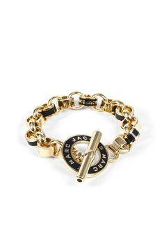 Enamel Toggle Bracelet