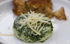 Spinach Timbales | All recipes with Trader Joes products for easy, quick, healthy meal ideas