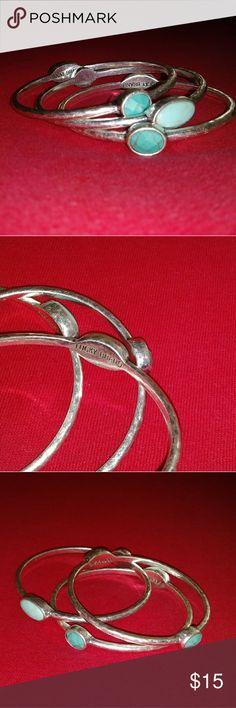 Lucky Brand Bracelet✨ 3 beautiful silver bracelets!!! Lucky Brand Jewelry Bracelets