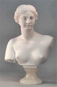 Venus De Milo Bust Sculpture