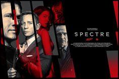007 Movie Poster Spectre James Bond Daniel Craig Fabric silk PRINTING for Living room decor