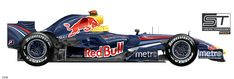 F1 2007, Red Bull Racing, Formula One, Car, Vehicles, Drawings, Sport, Auto Racing, Motorcycles