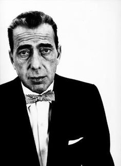 Richard Avedon, 1953, Black and White Photography Portrait, Humphrey Bogart.