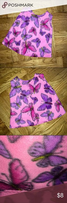 Kids | NWOT Super Soft Butterfly Vest / 2-4yo Kids | NWOT/never worn super soft butterfly print vest in a tagless size 2-4yo. Purchased from street fair vendor 10 years ago. Unknown Shirts & Tops