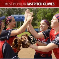 It's cooling down outside, but these gloves are staying hot! Check out the most popular fastpitch gloves for September! Fastpitch Softball Gloves, Most Popular, September, Hot, Check, Popular