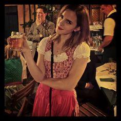 Emma in Vienna for Caroline Sieber's wedding - july 13, 2013