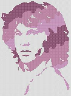 Jim Morrison en Punto de Cruz