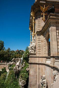 Cascada Fountains, Barcelona, Spain