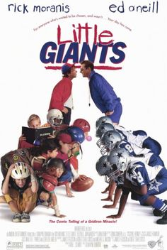 Little Giants Movie Poster. Loved this movie!